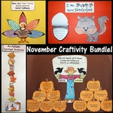 November Craftivity BUNDLE