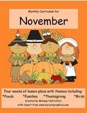 November Curriculum