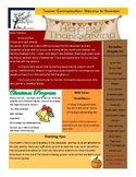 November Curriculum ages 4 to 5
