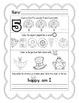 November: Daily Common Core Morning Work or Homework for Kindergarten