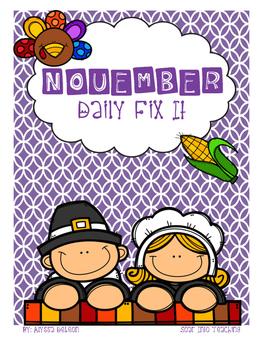 November - Daily Fix It