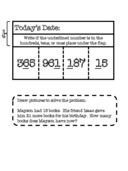 November Daily Interactive Math Journal