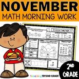 November Morning Work   Daily Math