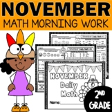 Morning Work November | Daily Math