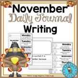 November Daily Quick Writes Writing Journal