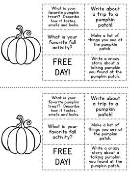 November Daily Writing Prompts