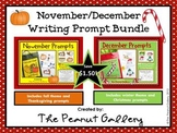 November & December Writing Prompt Bundle (Two Packs in One!)