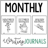 November, December, and January Writing Journals