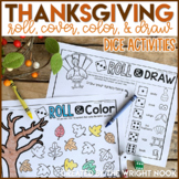 Thanksgiving Math Dice Games
