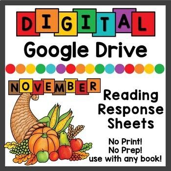 November Digital Reading Responses