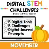 November Digital STEM Challenges™