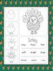 Kindergarten / Grade 1 Writing Prompts (November)