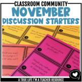 November Discussion Starters