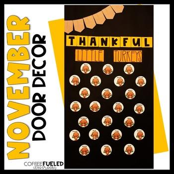 November Door Decor