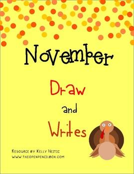 November Draw Then Writes