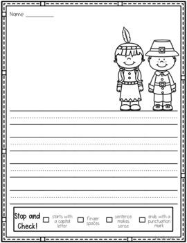 November Draw and Write