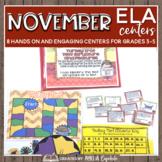 November ELA Centers + Digital Bundle