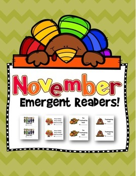 November Emergent Readers!