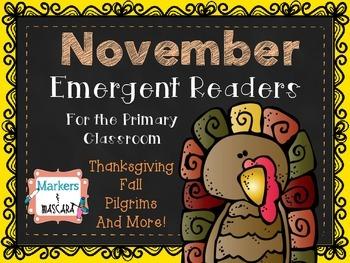 November Emergent Readers