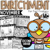 November Enrichment/Early Finishers*Second Grade*