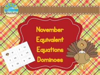 November Equivalent Dominoes