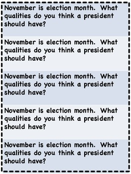 November Everyday Writing Journals Printable