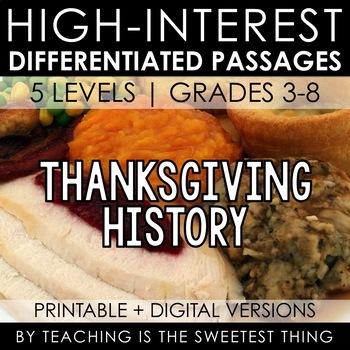 Thanksgiving Passage [FREE]