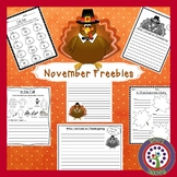 Free Thanksgiving - November Assortment Pack - A Sample of