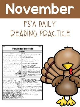 November FSA Daily Reading Packet