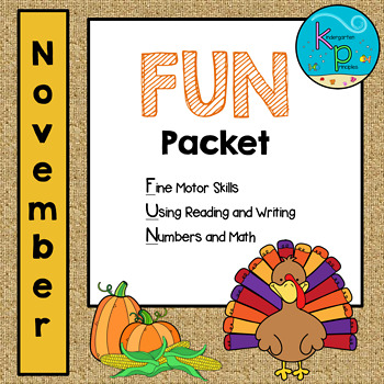 November FUN Packet - NO PREP!