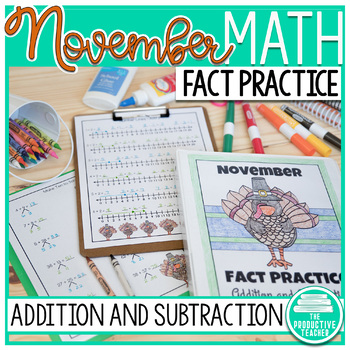 November Fact Practice: Addition and Subtraction