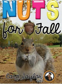 November ~ Fall No Prep Printables for Math and Literacy