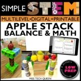 November Fall STEM Challenge - Apple Stack
