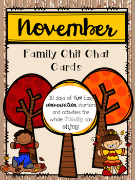 November Family Chit Chat Cards