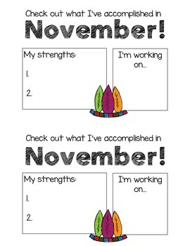 November Feedback Form