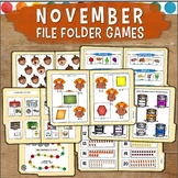 November File Folder Games