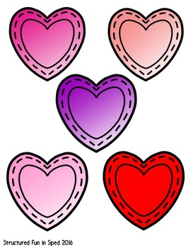 February File Folder Games for Preschool, Pre-K and Special Needs