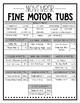 November Fine Motor Tubs