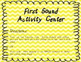 November First Sound Activity