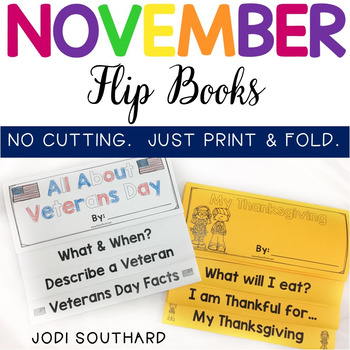 November Flip Books