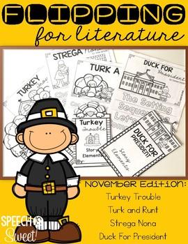 November: Flipping for Literature