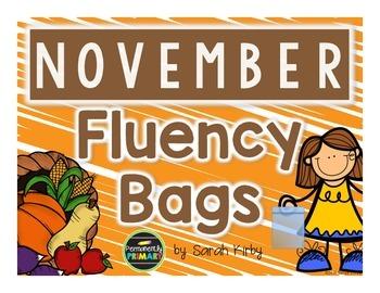 November Fluency Bags