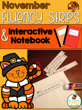 November Fluency Strips