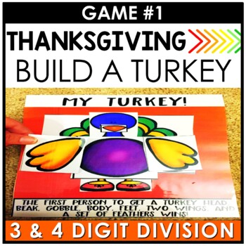 Thanksgiving Fourth Grade Math Centers BUNDLE