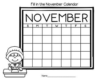 November Freebie