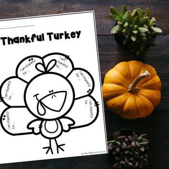 November Friday Freebie #1: Thankful Turkey