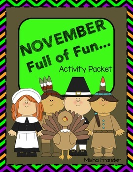 November-Full of Fun Activity Packet