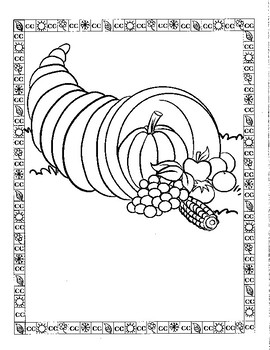November Coloring Pages Worksheets Teaching Resources Tpt