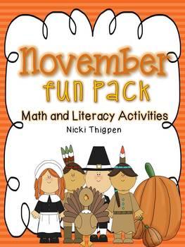 November Fun Pack