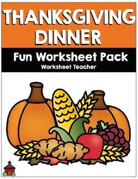 November Fun Worksheet Pack